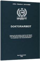 Doktorarbeit Premium Hardcover Tabelle