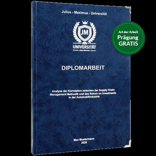 Diplomarbeit-drucken-und-binden-mit-dem-Premium-Hardcover in dunkelblau