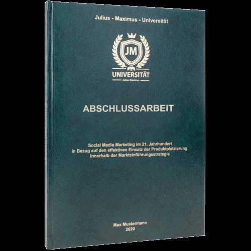 Informationen zur Standard Hardcover Bindung