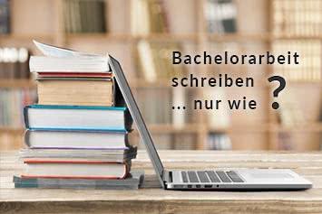 Bachelorarbeit und Hausarbeit schreiben