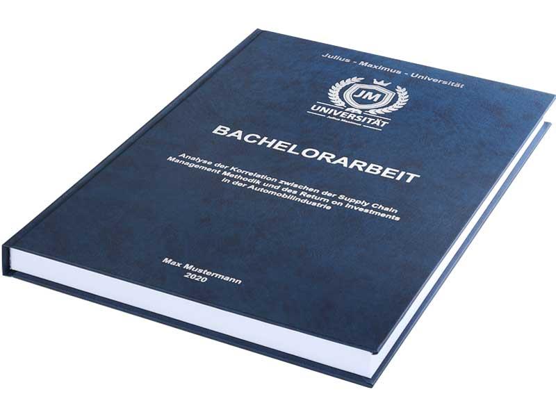 Dauer-Bachelorarbeit-Drucken-und-Binden-mit-der-Hardcover-Bindung-mit-Prägung