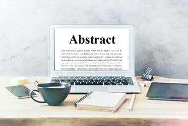 Abstract der Dissertation schreiben