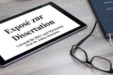 Exposé für die Dissertation schreiben