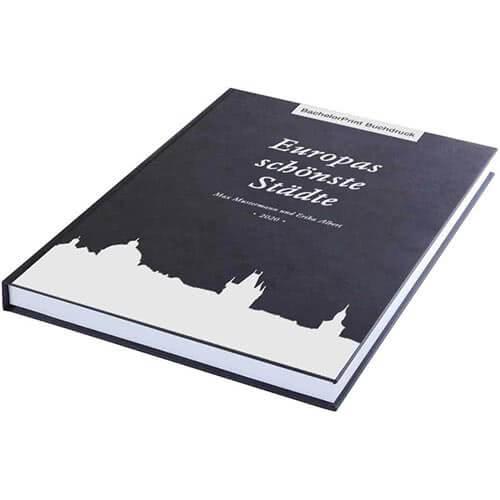 Buch drucken mit Premium Hardcover schwarz