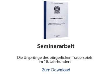Seminararbeit Beispiel Literaturwissenschaft