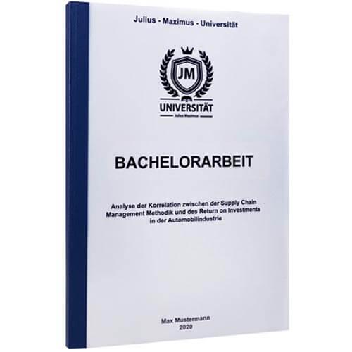 Bachelorarbeit drucken Zürich