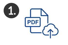 Schritt 1 Diplomarbeit zum drucken & binden im Online-Shop hochladen
