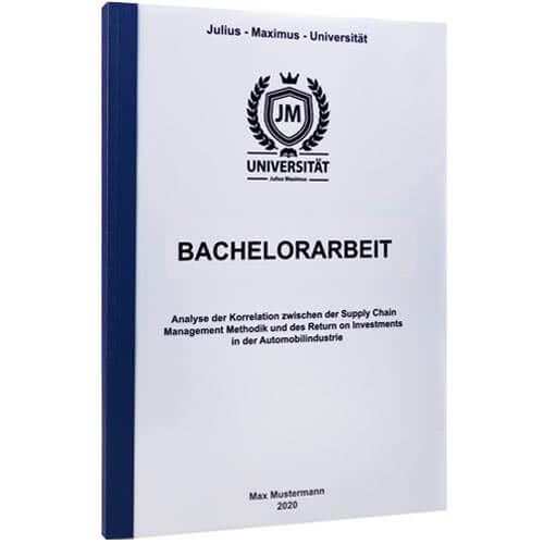 Bachelorarbeit drucken St Gallen