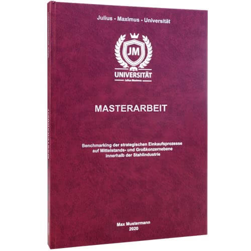 Masterarbeit binden St Gallen