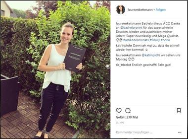 Kostenlos drucken lassen für - Laureen Kettmann
