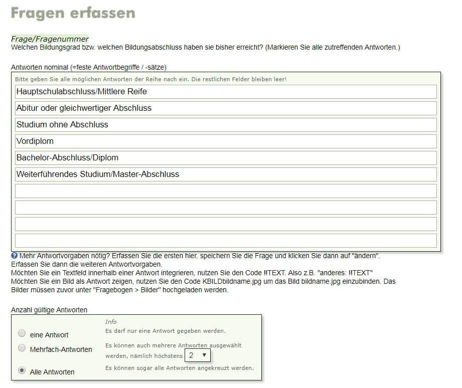 Kundenbefragung Mit Einer Excel Vorlage Alle