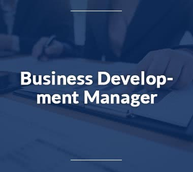 Business Development Manager Jobs