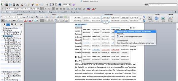 Überschrift-formatieren-Word-Inhaltsverzeichznis-Mac