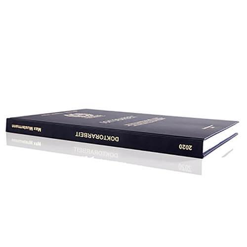 Doktorarbeit drucken Hardcover Buchrücken