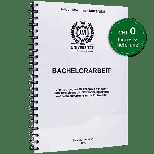 Bachelorarbeit drucken binden Spiralbindung