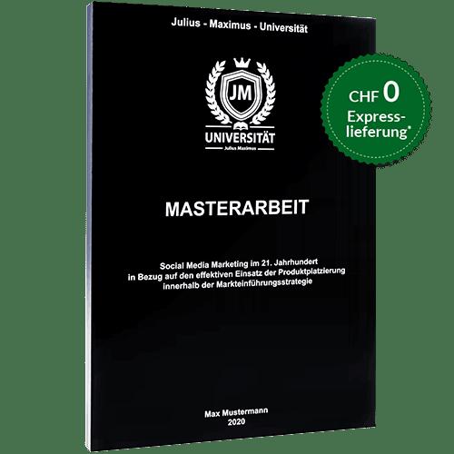 Masterarbeit binden Magazinbindung