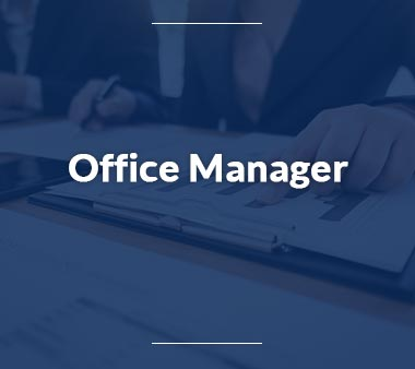 Qualitätsmanager-Office-Manager
