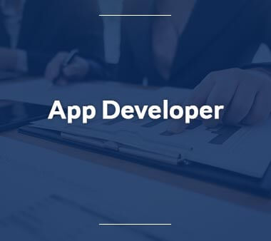 App Developer IT-Berufe