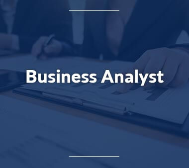 Business Analyst Berufe mit Zukunft