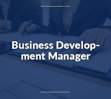 Business Development Manager Bestbezahlte Berufee