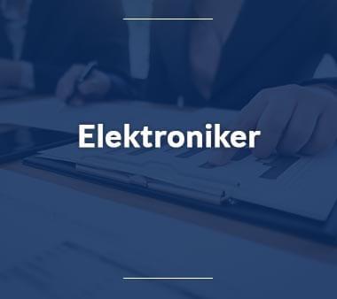 Elektroniker Handwerksberufe