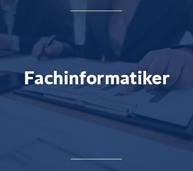 Fachinformatiker IT-Berufe
