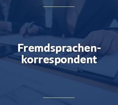 Fremdsprachenkorrespondent Berufe mit Sprachen