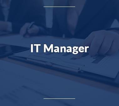 IT Manager Berufe mit Zukunft