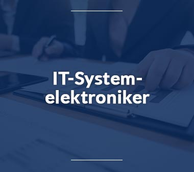 IT-Systemelektroniker IT-Berufe