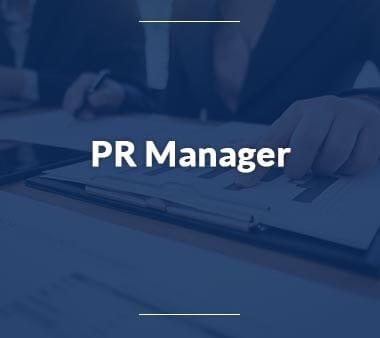 PR Manager Berufe mit Zukunft