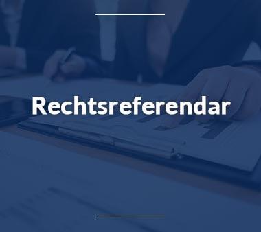 Rechtsreferendar Berufe mit Zukunft