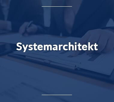 Systemarchitekt IT-Berufe