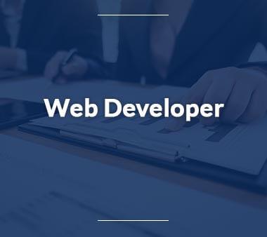 Web Developer Berufe mit Zukunft