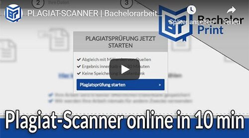 Plagiat-Scanner Video-Erklärung