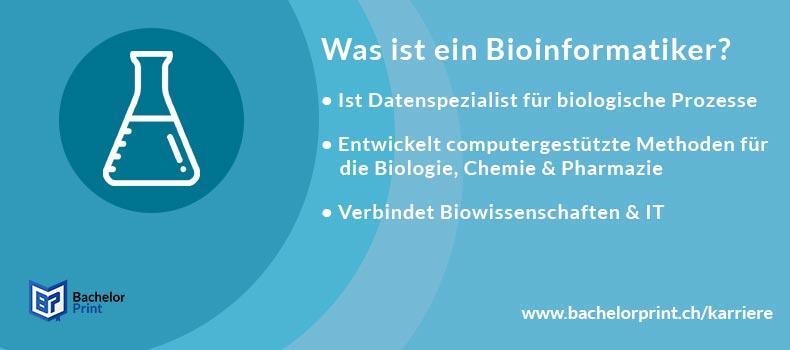 Bioinformatiker Definition Überblick