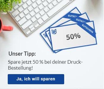 Copyshop Zürich 50 Prozent sparen