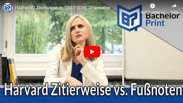 Deutsche Zitierweise Tipps Hilfe Bachelorarbeit