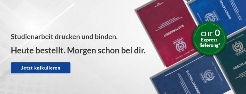 deutsche Zitierweise in Bachelorarbeit Drucken Binden