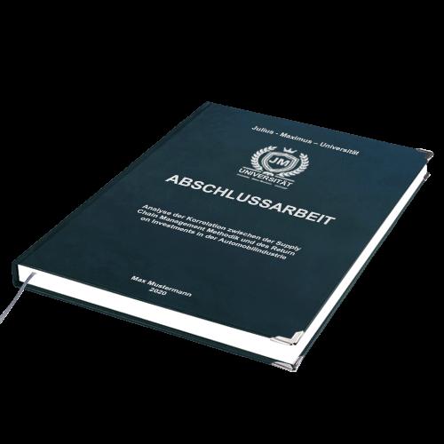 Abschlussarbeit Premium Hardcover binden Empfehlung