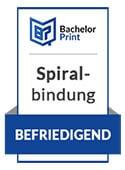 Diplomarbeit binden in der Spiralbindung
