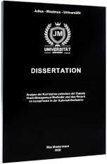 Dissertation drucken binden Magazinbindung
