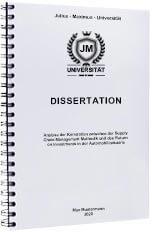 Dissertation drucken binden Spiralbindung