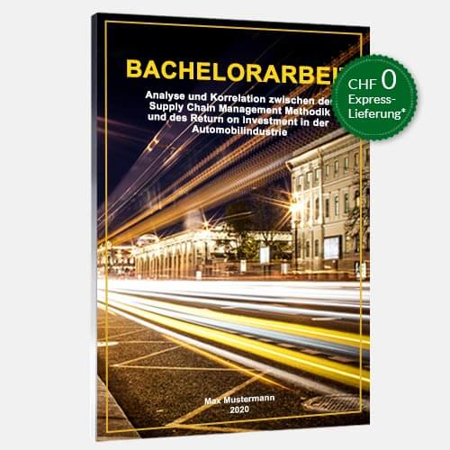Bachelorarbeit individuell binden Magazinbindung