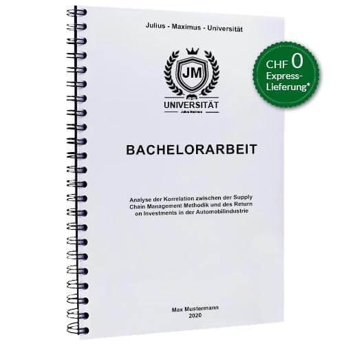 Bachelorarbeit drucken Spiralbindung