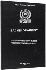 Bachelorarbeit Standard Hardcover Tabelle