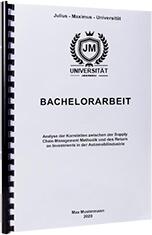Bachelorarbeit drucken in der Spiralbindung