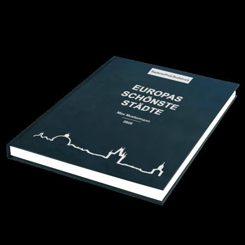 Buch binden Premium Hardcover liegend