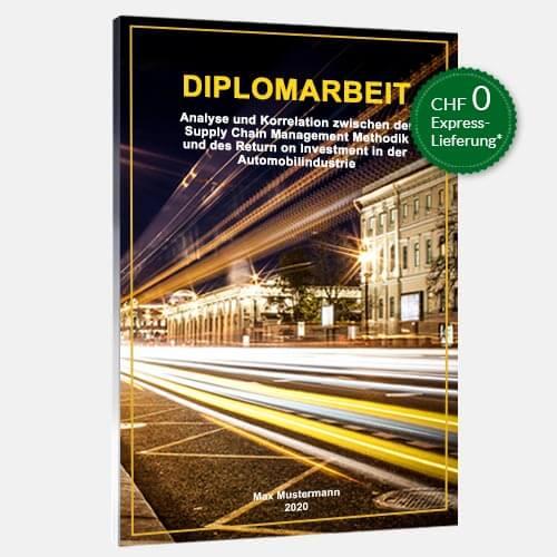 Diplomarbeit binden Magazinbindung