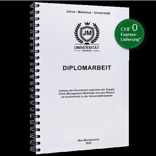 Diplomarbeit binden Spiralbindung