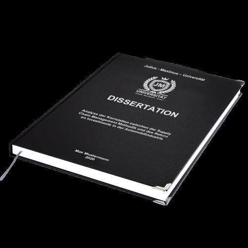 Dissertation binden Standard Hardcover